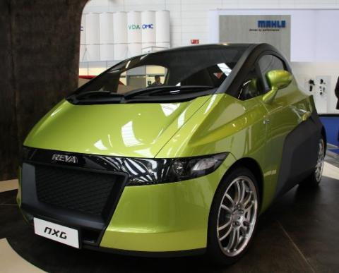Reva electric car photo